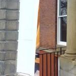 Stone column close up before  after stone bricktint bricktintinghellip