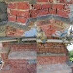 Before full chimney restoration brick bricks bricktint bricktinting construction constructionlifehellip